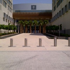 Pilomat automatic and fixed 275/K12-900 at New York University in Abu Dhabi